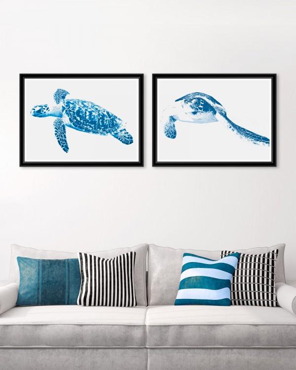 TURTLES Framed Art