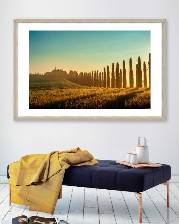 TUSCANY LANDSCAPE Framed Art