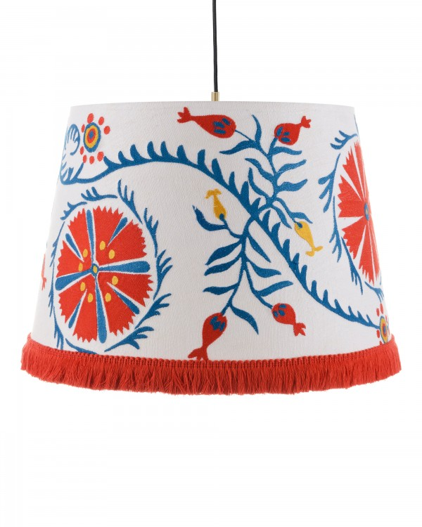 VIRAGOS Embroidered Pendant Lamp