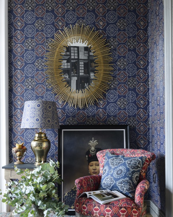 AJRAK Blue Wallpaper