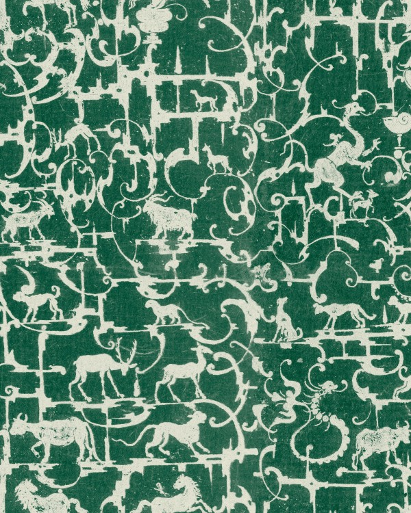 ROYAL HUNTING Racing Green Wallpaper