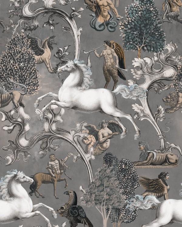 IMAGINARIUM Grey Wallpaper