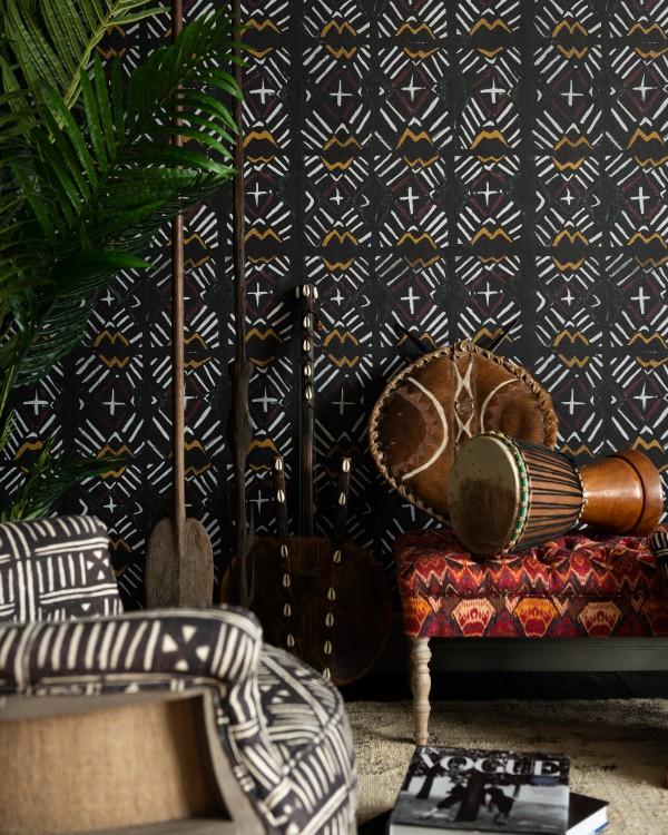 BAMANA Recoloured Wallpaper