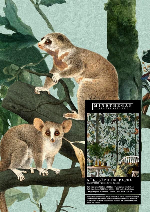 WILDLIFE OF PAPUA - Wallpaper Sample