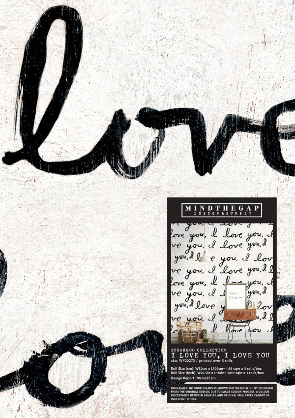I LOVE YOU, I LOVE YOU Wallpaper Sample