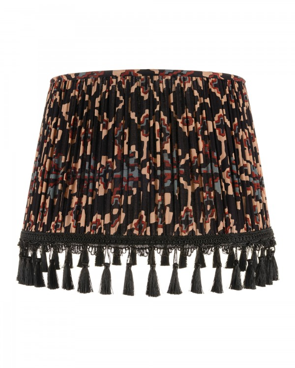 ZOLD Dark Pleated Lampshade