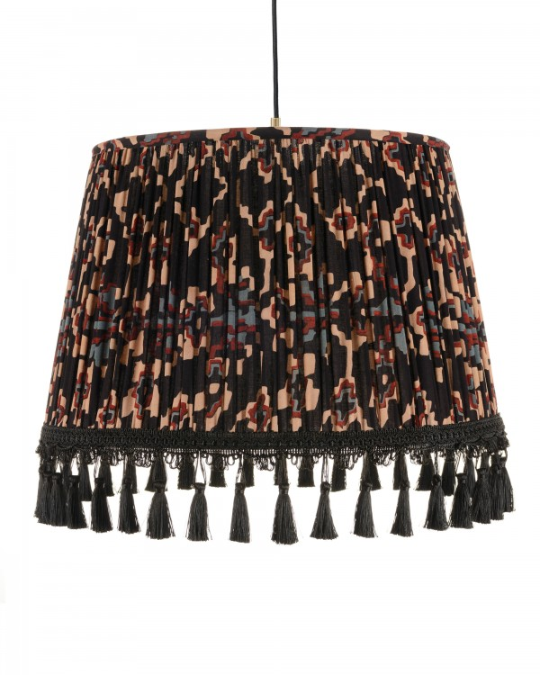 ZOLD Dark Pleated Pendant Lamp