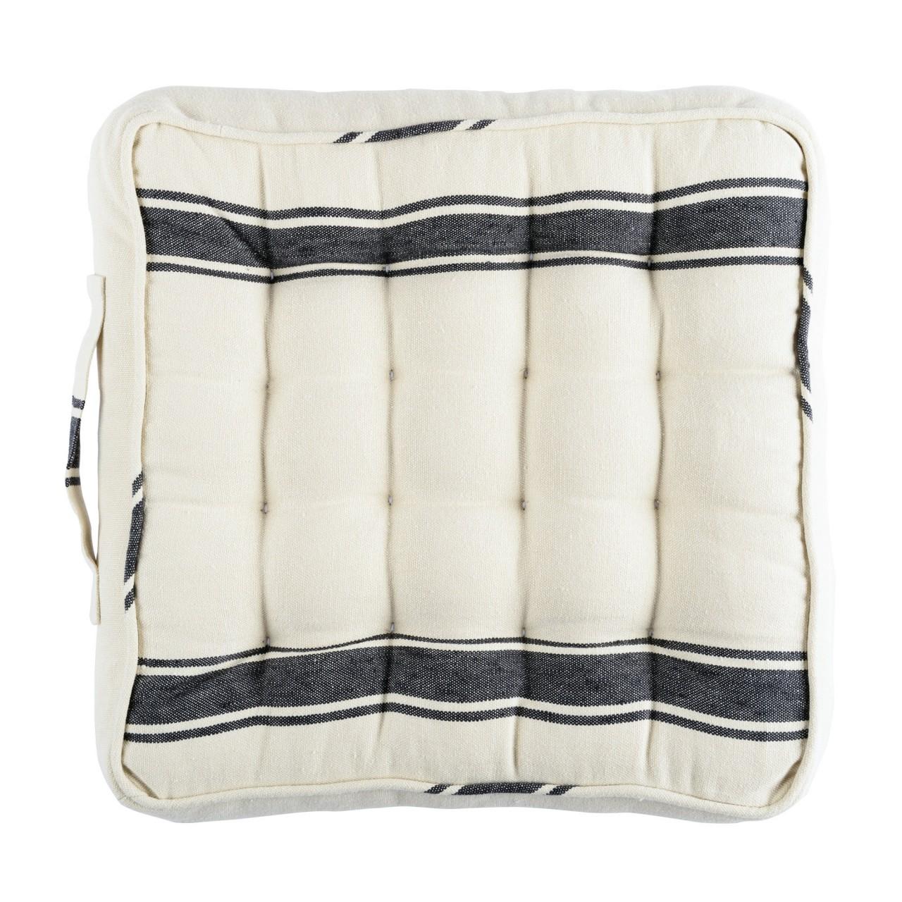 HAJDU STRIPE Linen Chair Cushion
