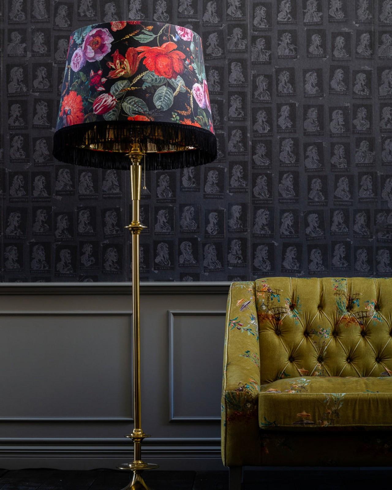 FLOWERS OF THE LADY REGENCY Floor Lamp