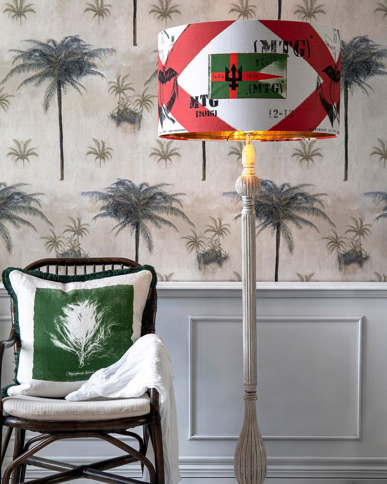 NAVAL FLAGS ARTISAN Floor Lamp