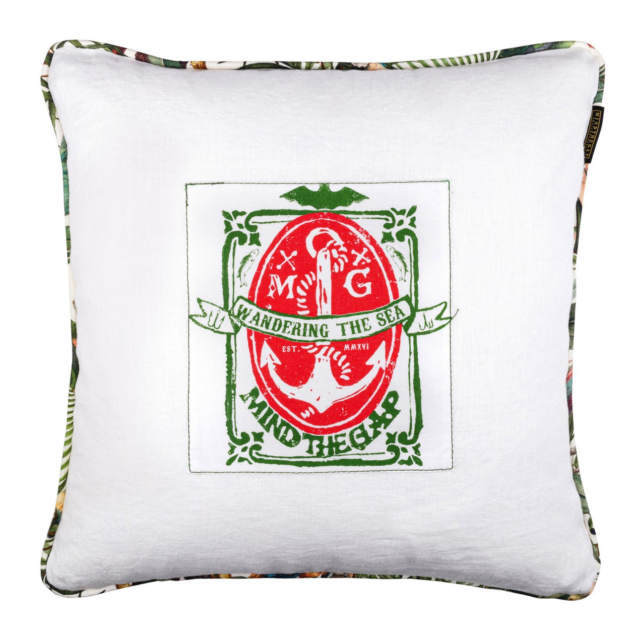 WANDERING THE SEA Cushion