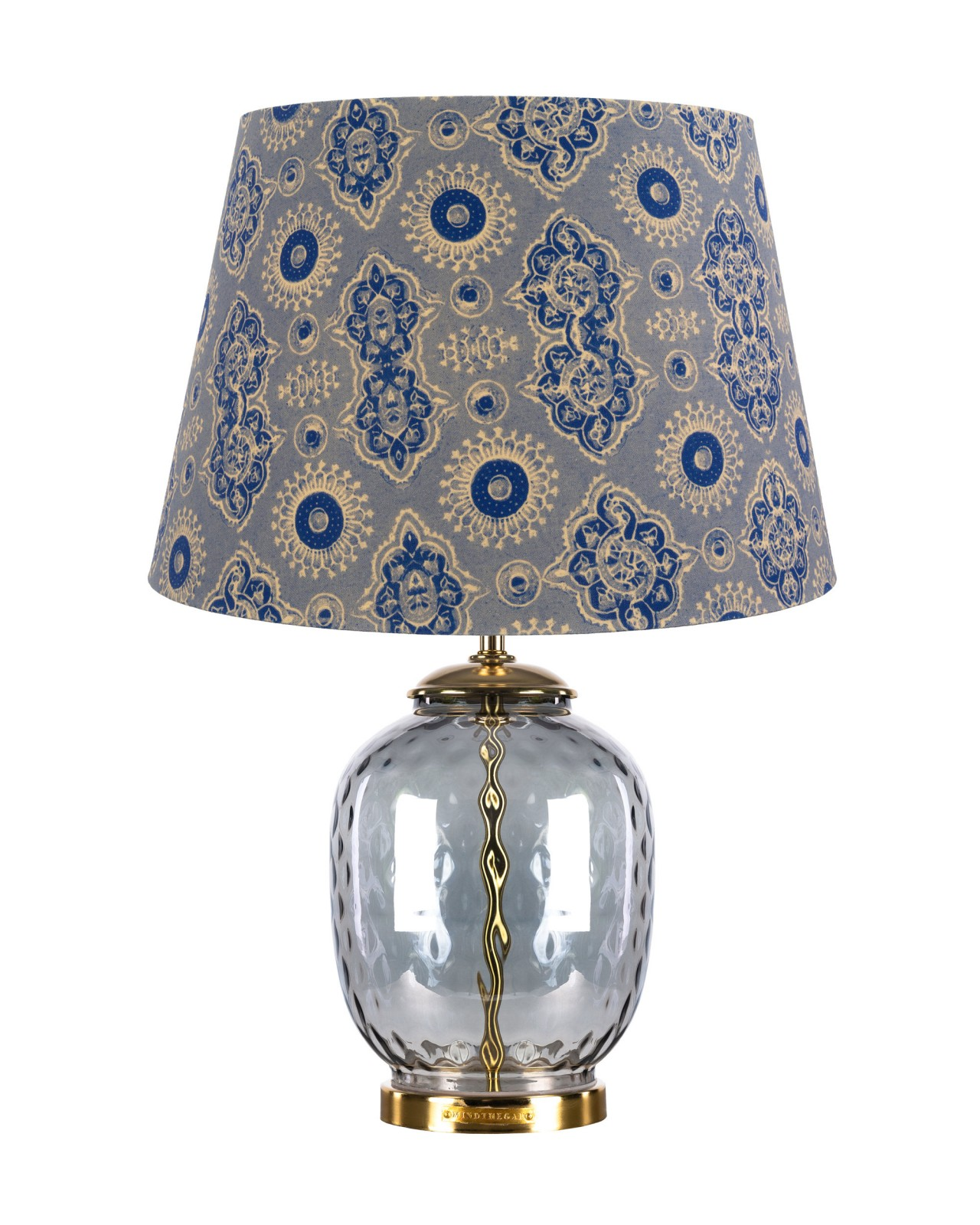 AJRAK GREY CHELSEA Table Lamp