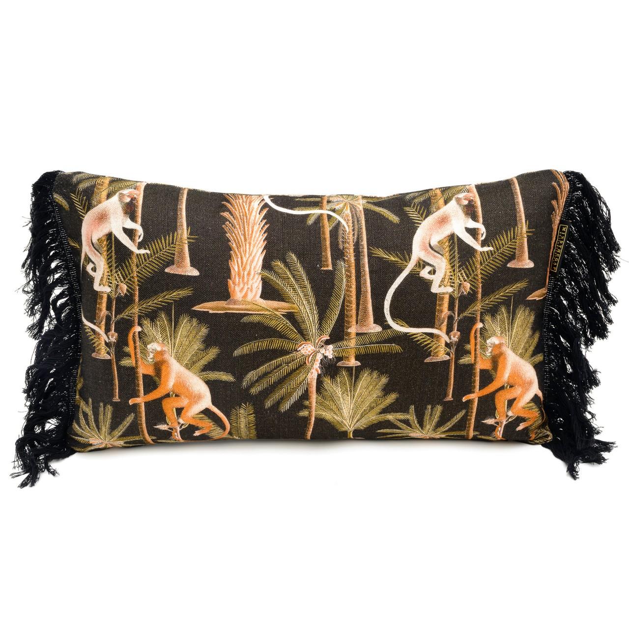 BARBADOS Anthracite Linen Cushion