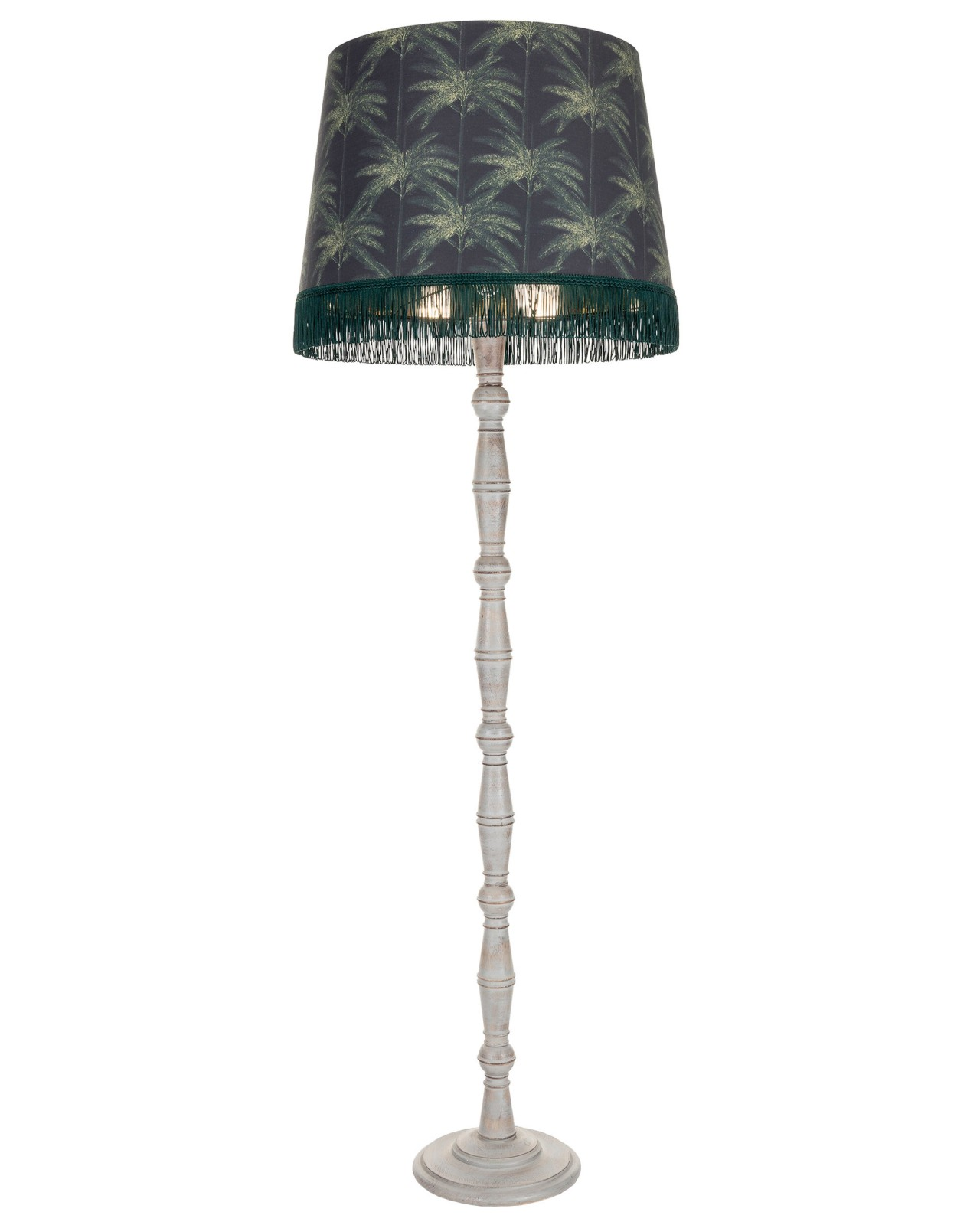 ORNAMENTAL PALMS Dark KERALA Floor Lamp
