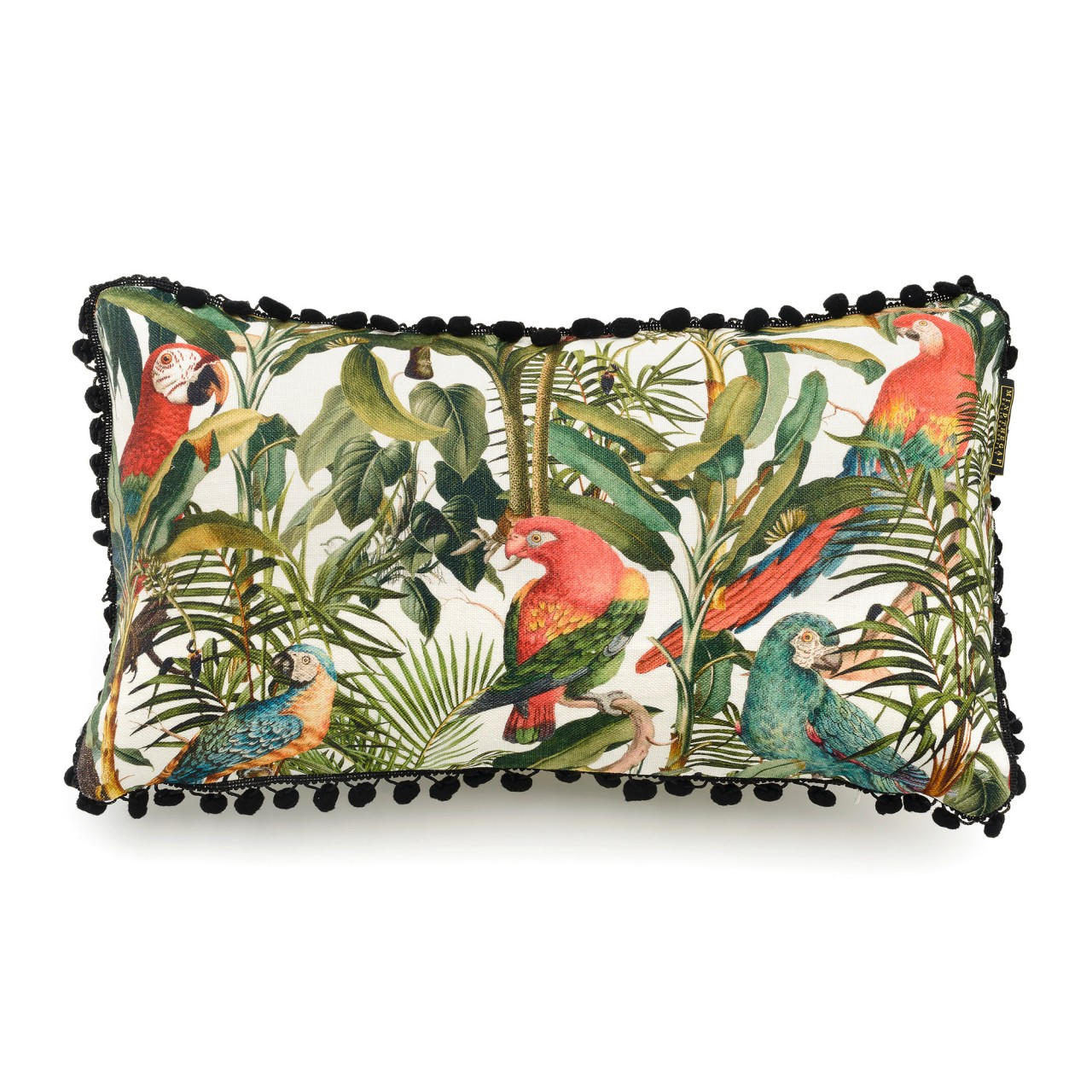 PARROTS OF BRASIL Linen Cushion