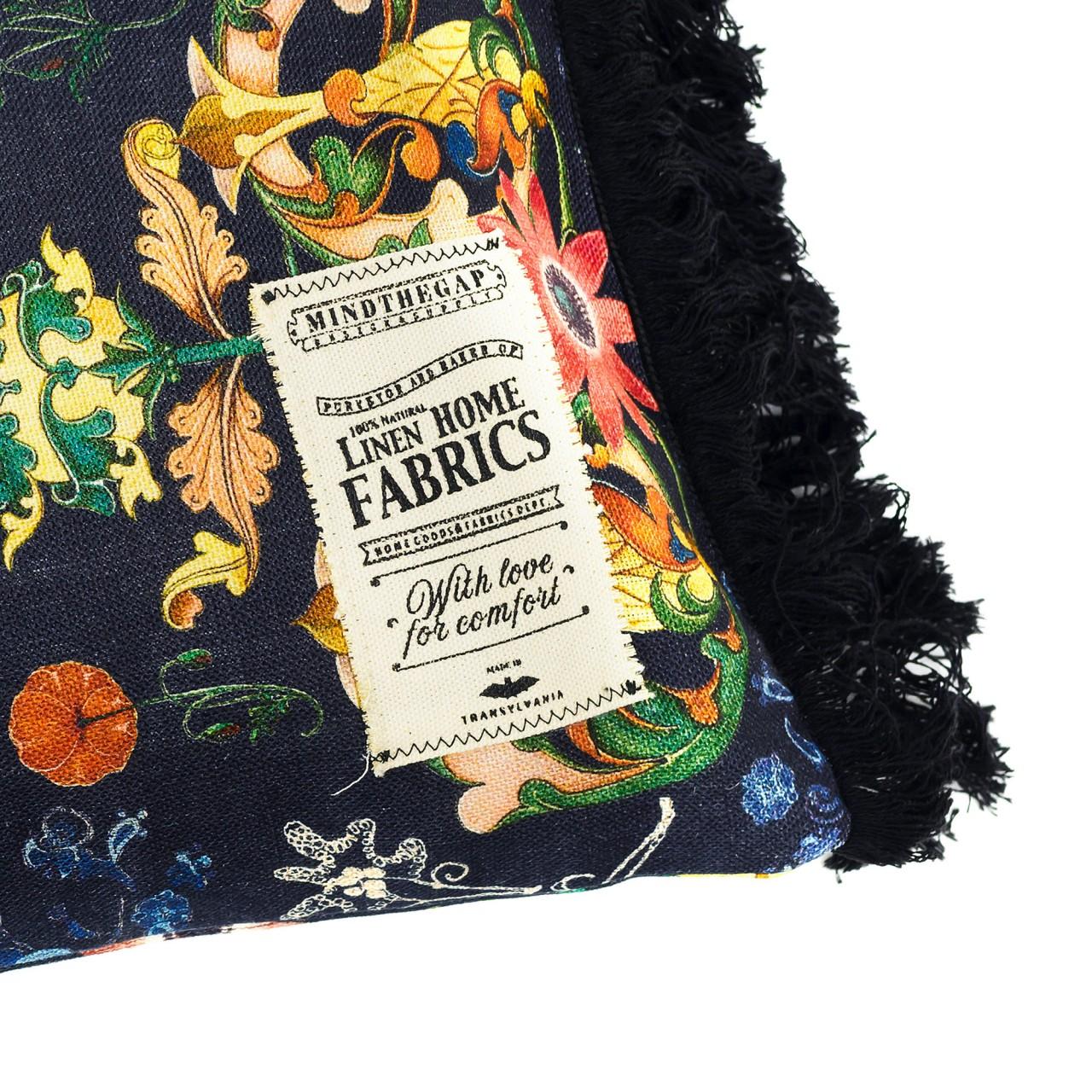TRANSYLVANIA FOLK Linen Cushion