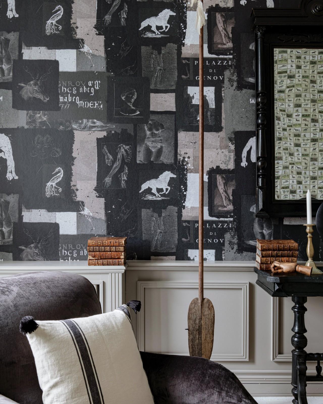 THE STUDIO Dark Wallpaper