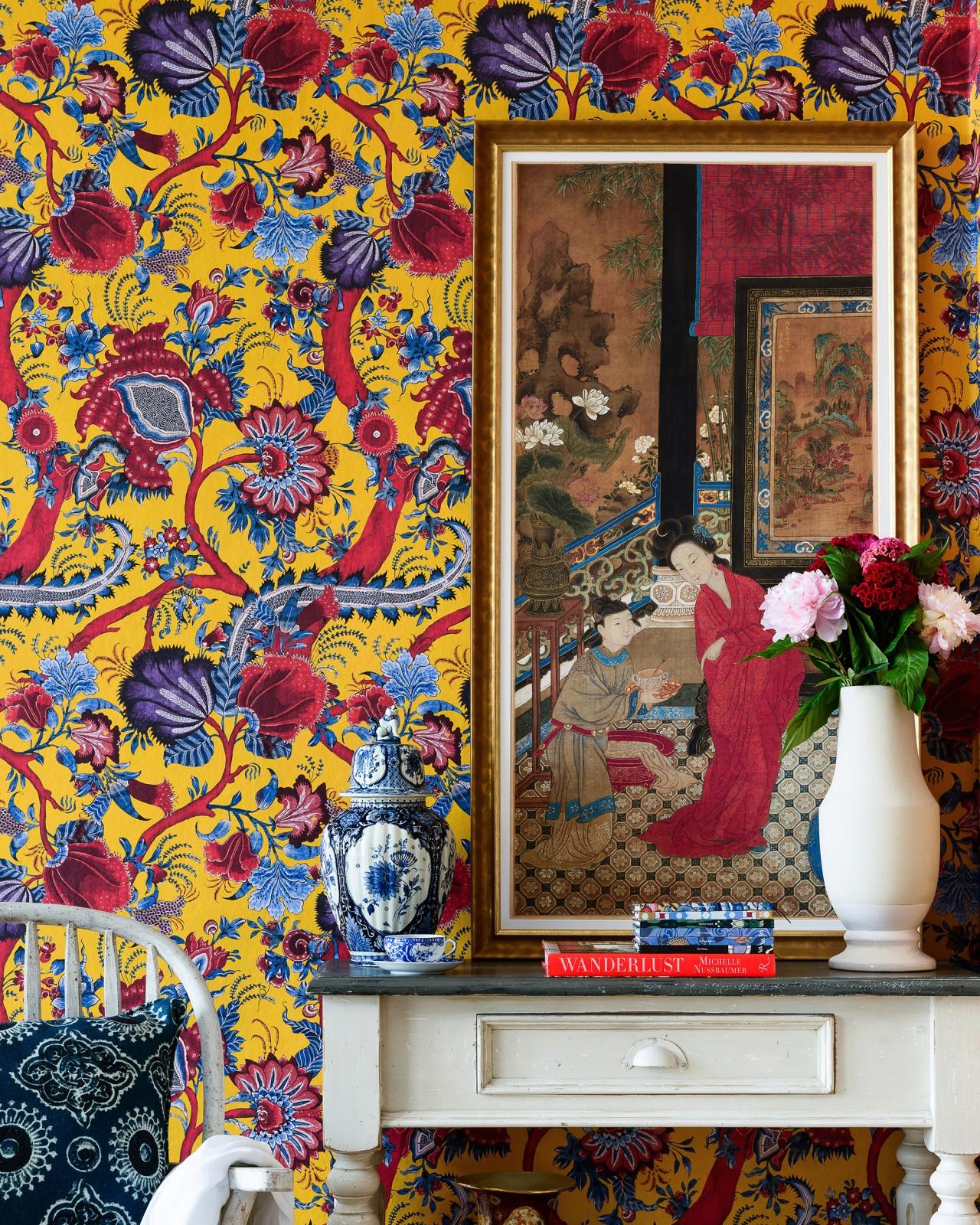 CHINESE PAISLEY Wallpaper