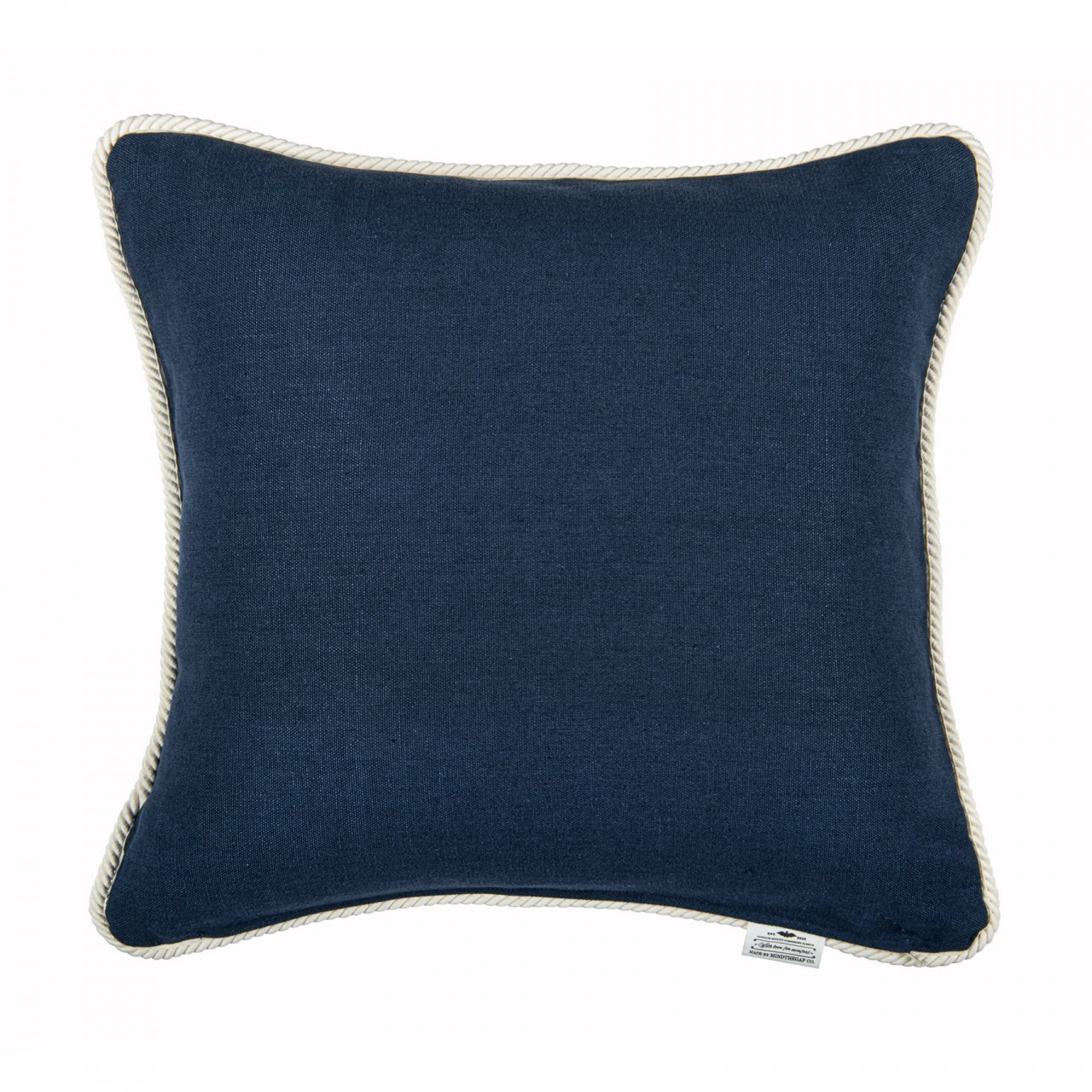 AHOY! Linen Embroidered Cushion