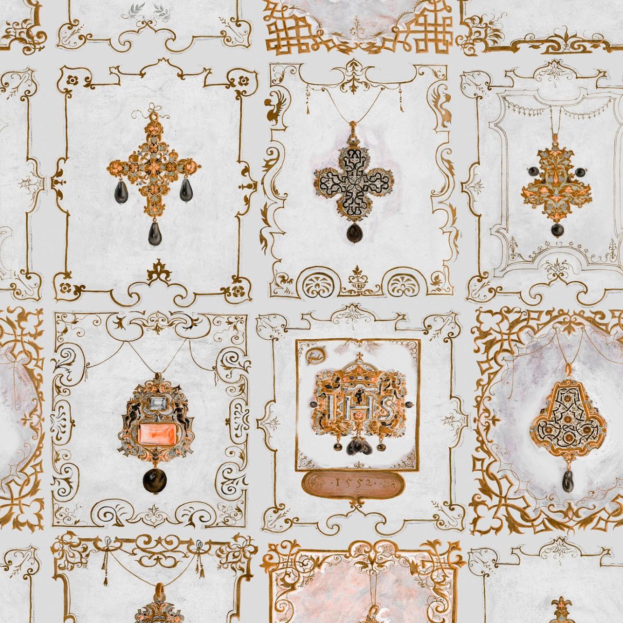 ANNA's JEWELRY Neutral Wallpaper