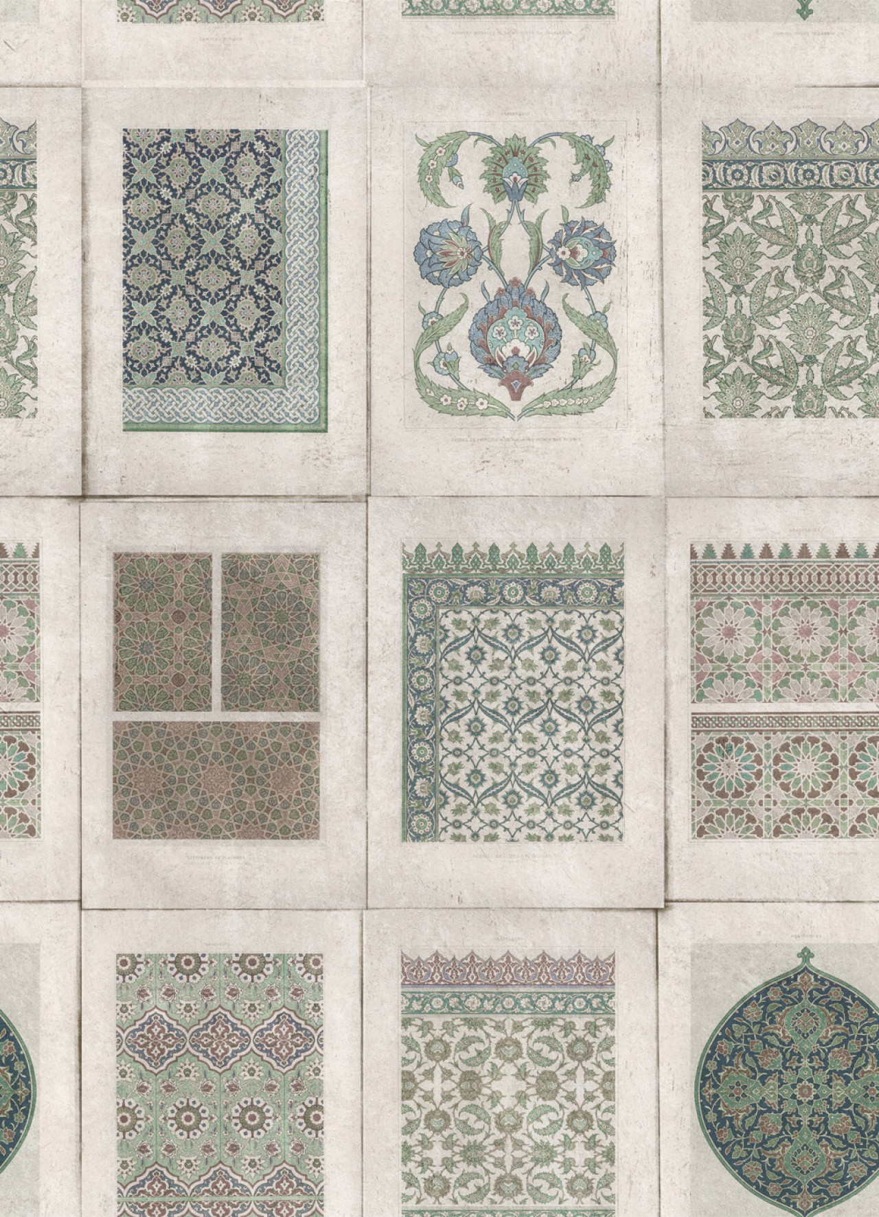 ARABESQUE Neutral Premium Wallpaper