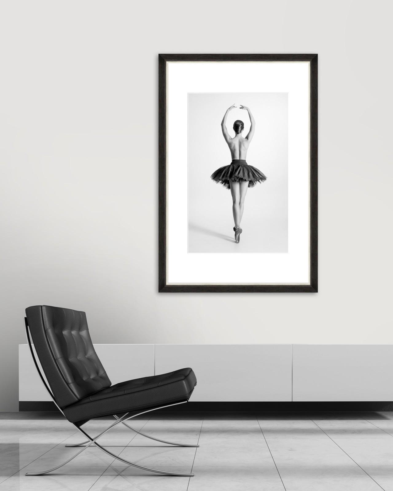 BALLET DANCE Framed Art