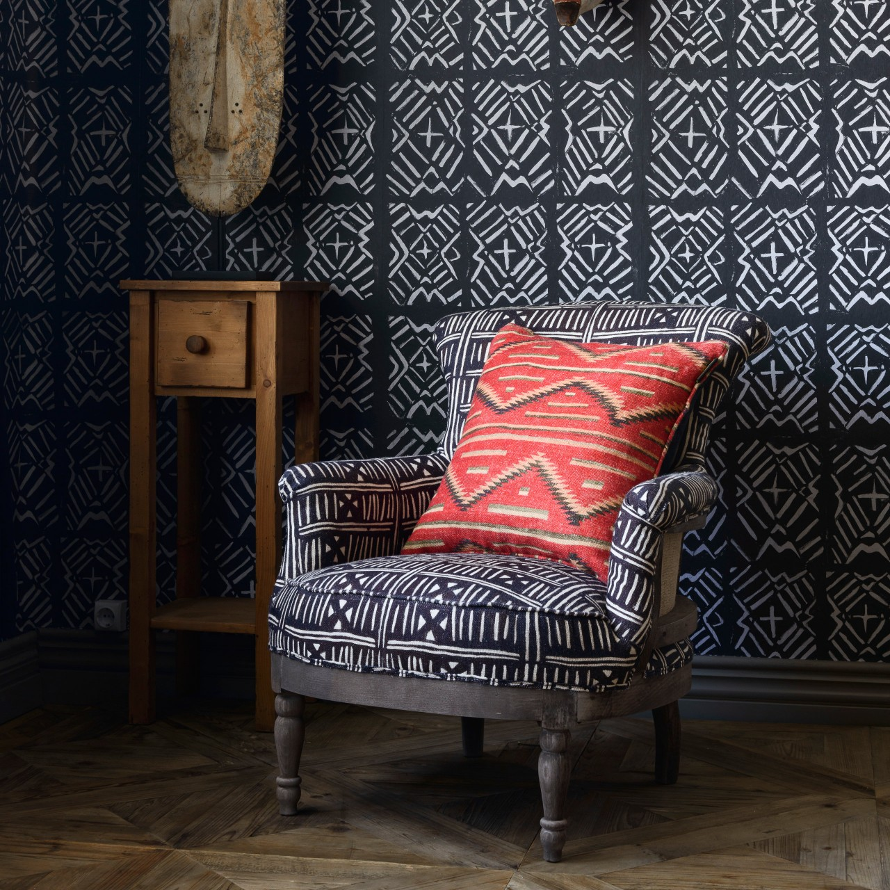 LOUIS Deconstructed Chair - BOGOLANFINI Linen