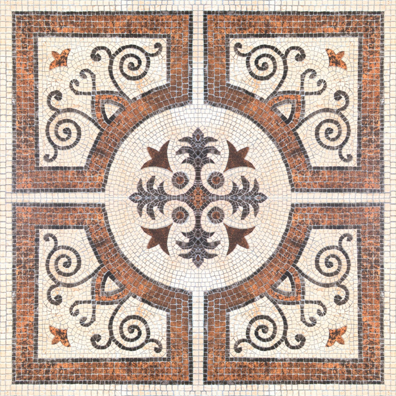 BYZANTINE TILE Premium Wallpaper