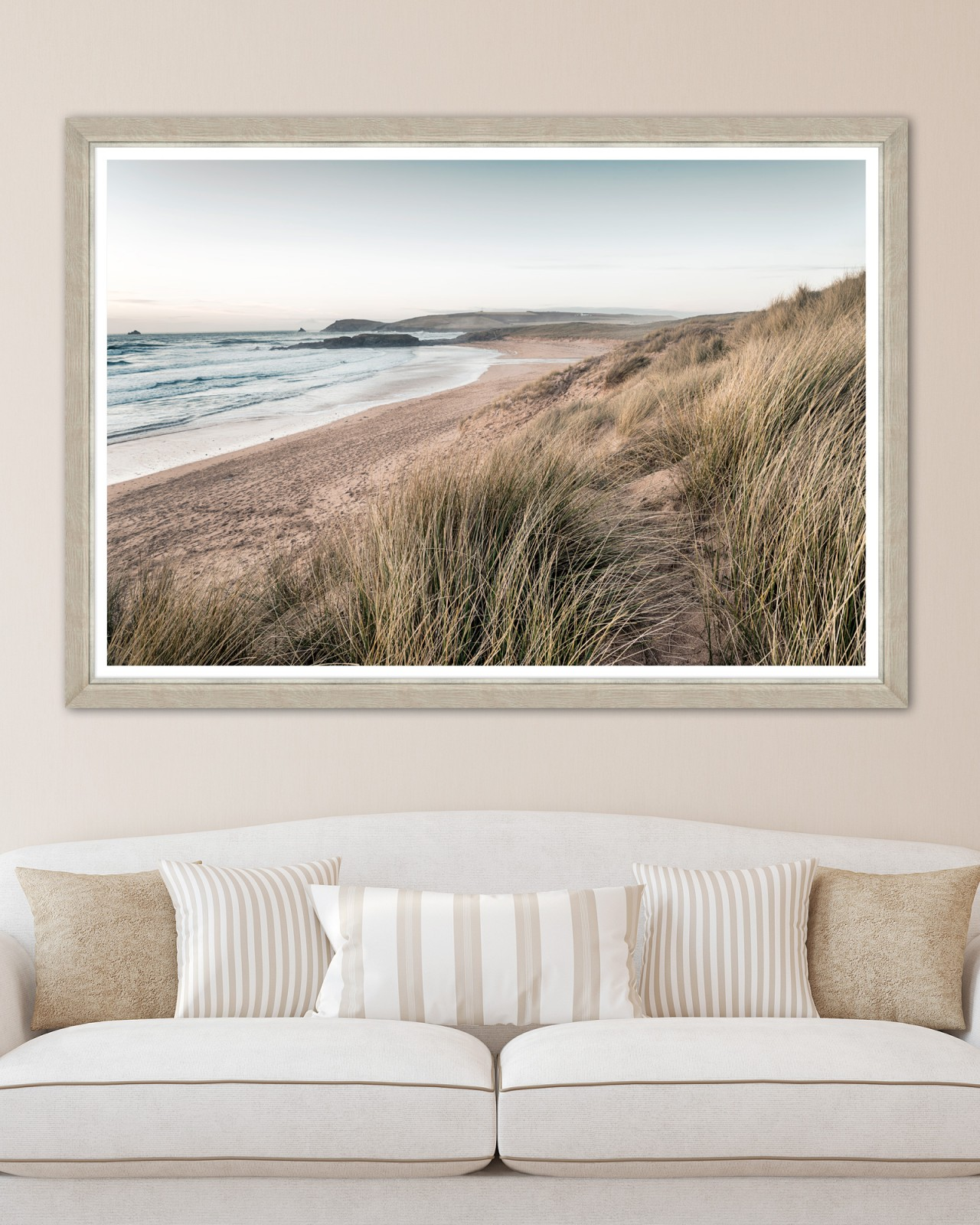 CALM BEACH Framed Art