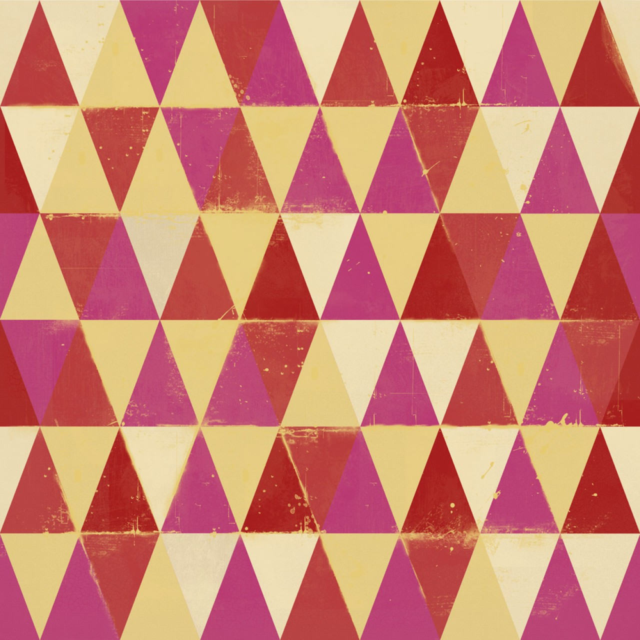 CIRCUS PATTERN Premium Wallpaper