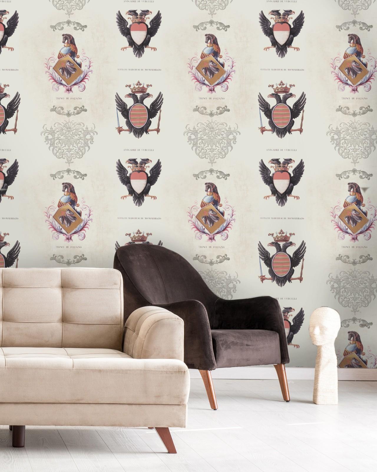 COAT OF ARMS Premium Wallpaper