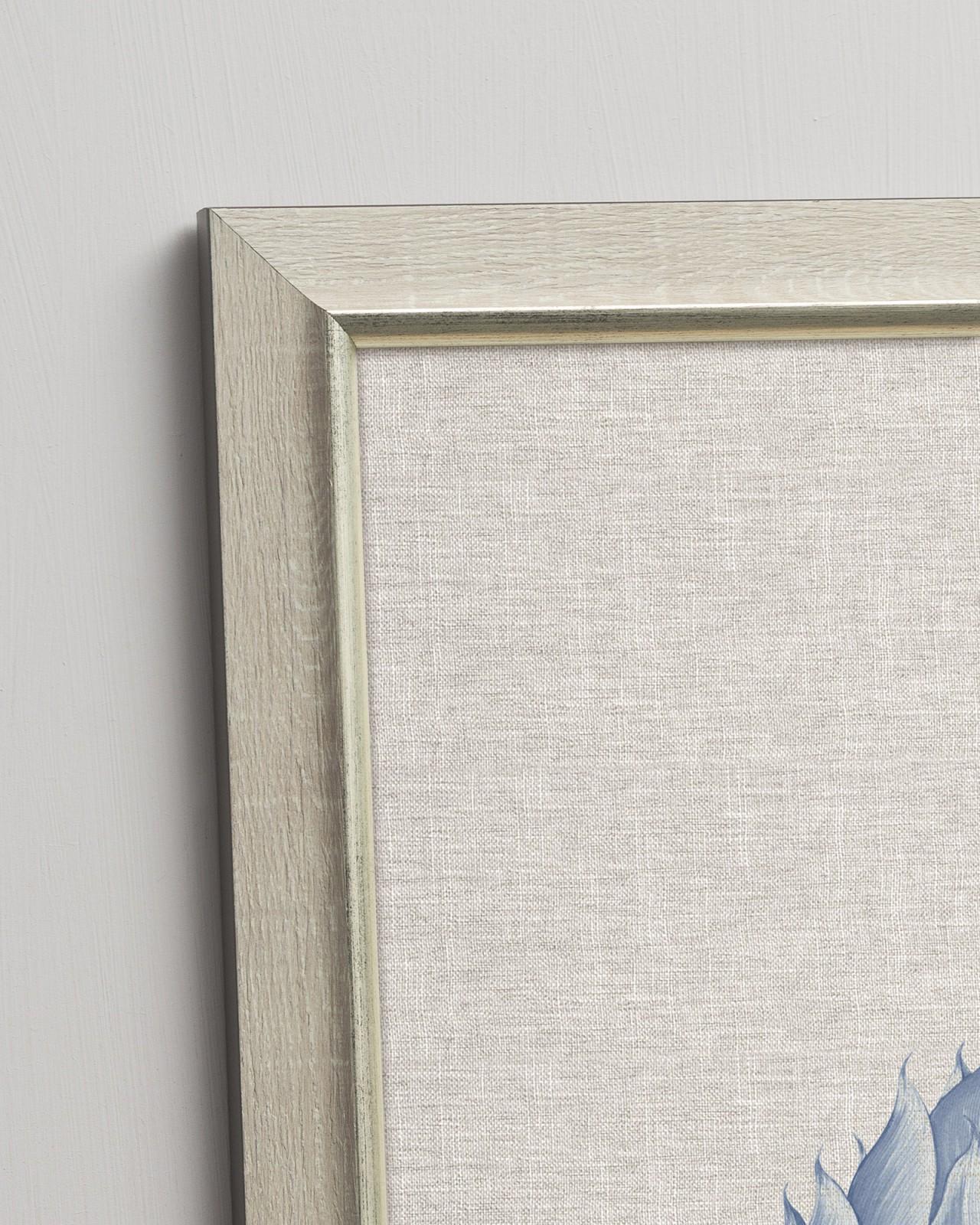 LINOCUT LEAFS II Framed Art