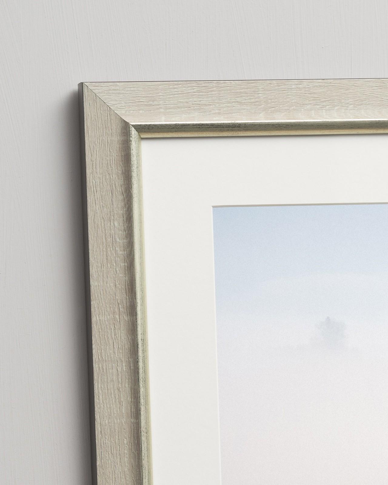 Linocut Florals II Framed art