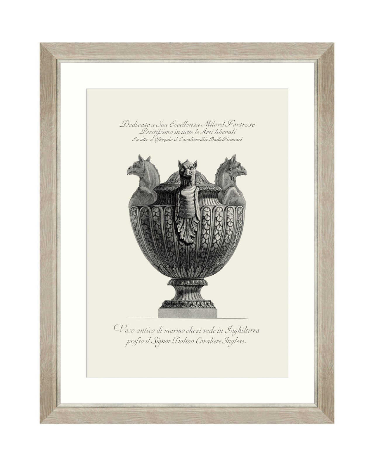 ANTIQUE URN VII Framed Art