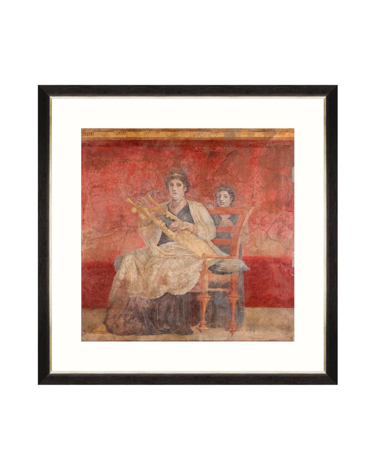 POMPEII WALL FRESCO I Framed Art
