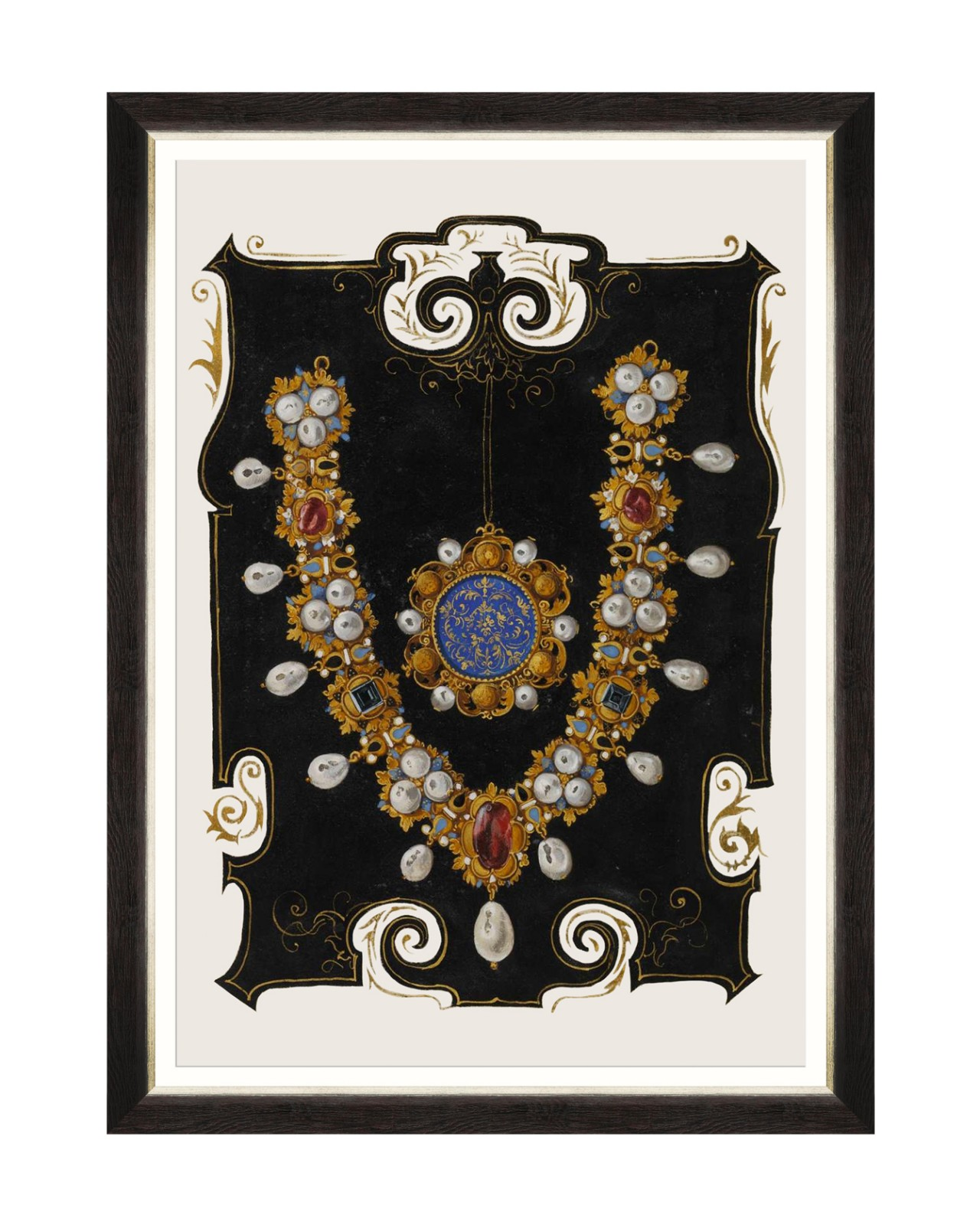 ANNA'S JEWELRY III Framed Art