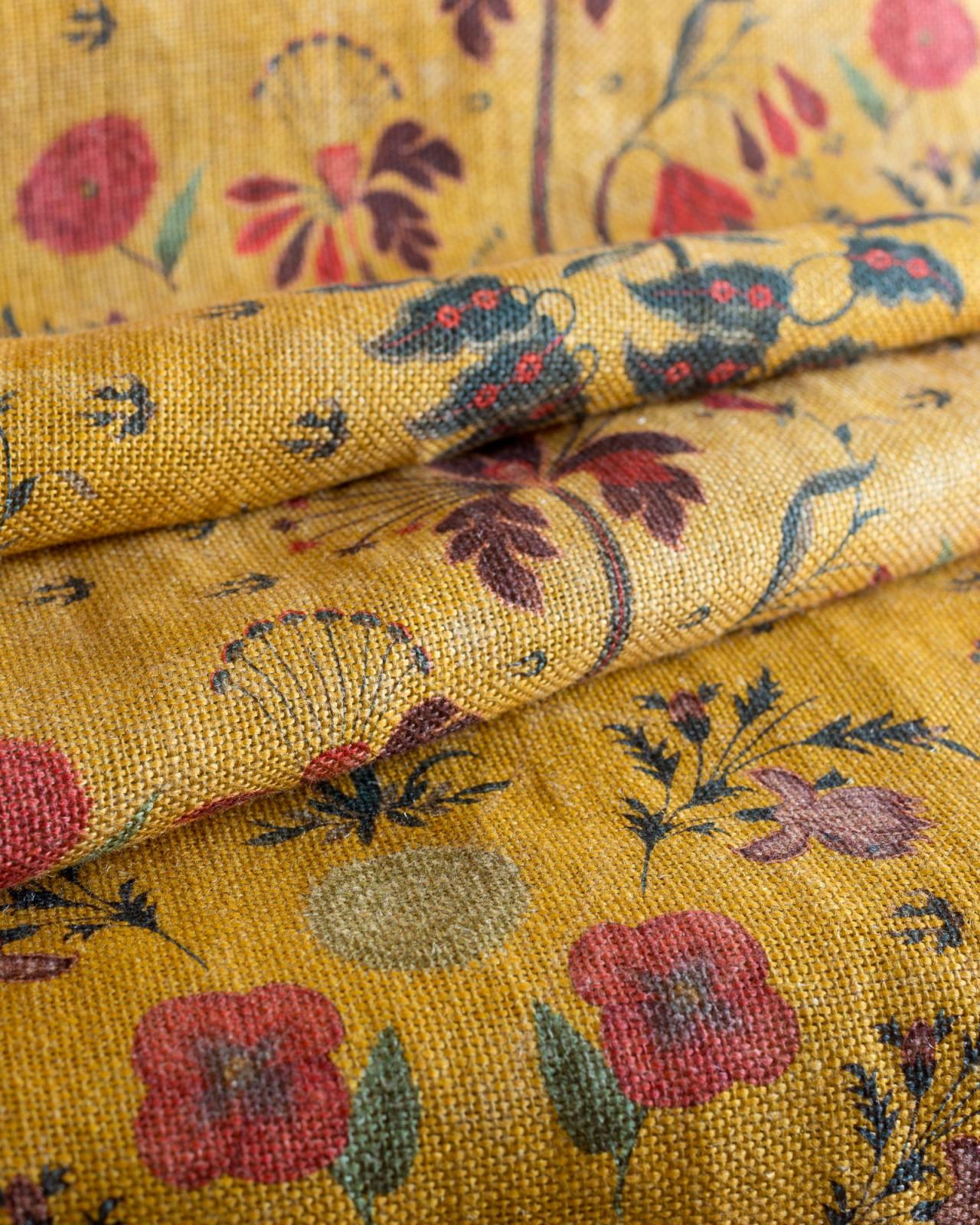 GYPSY OCHRE Linen