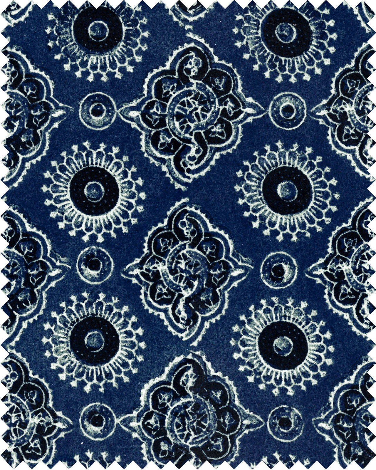 AJRAK Linen Fabric Sample