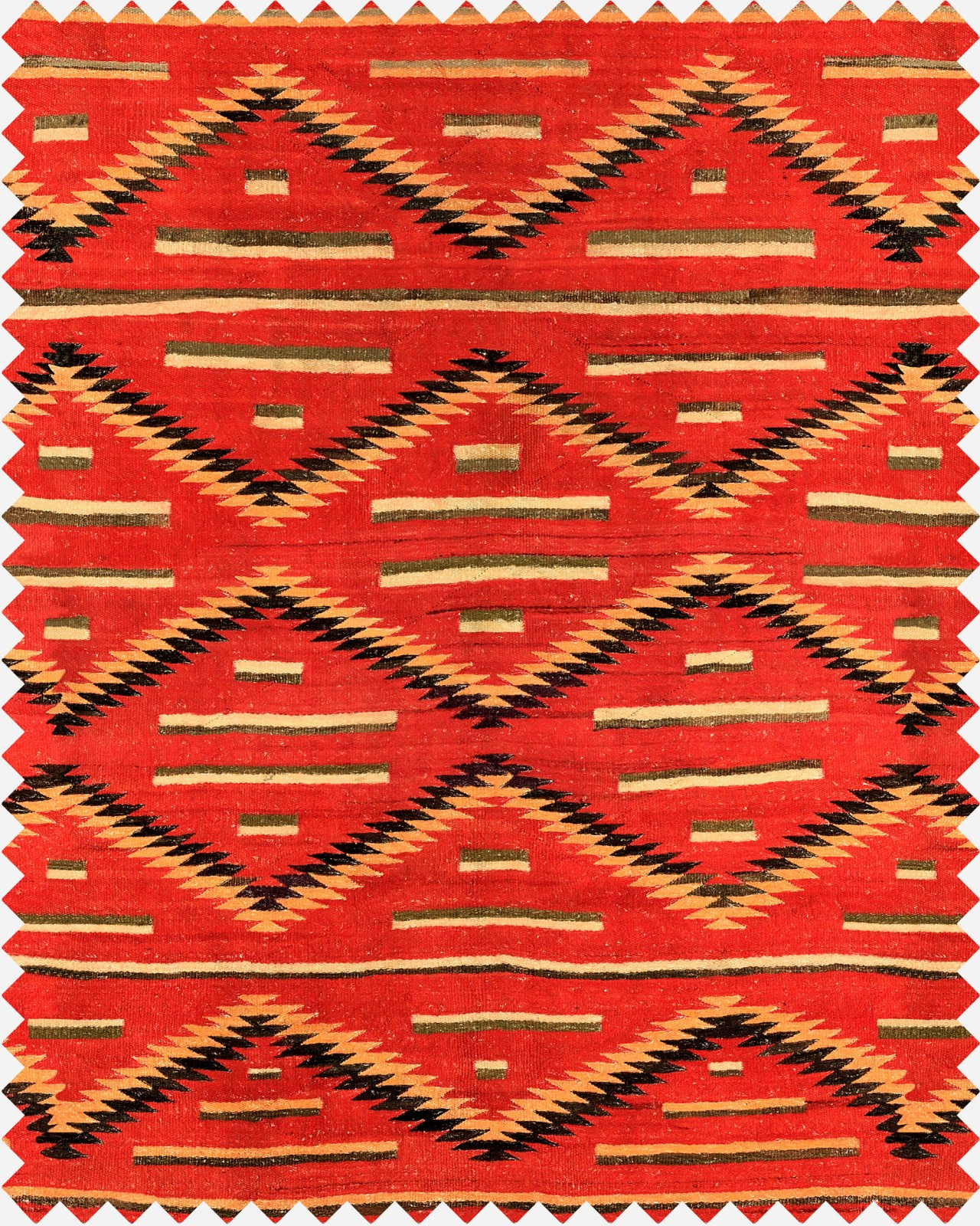 EYEDAZZLER NAVAJO Linen Fabric Sample
