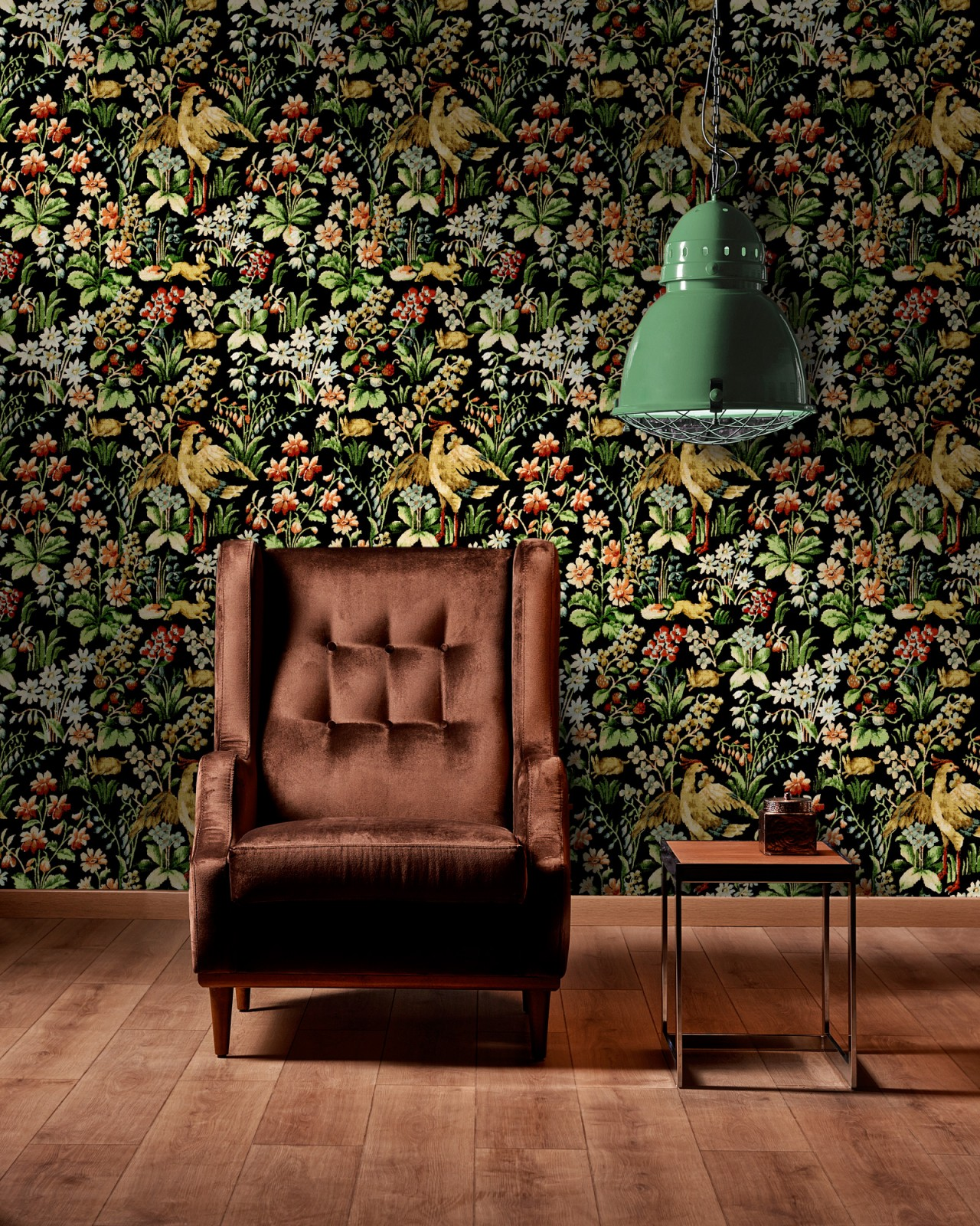 FLORAL TAPESTRY Premium Wallpaper