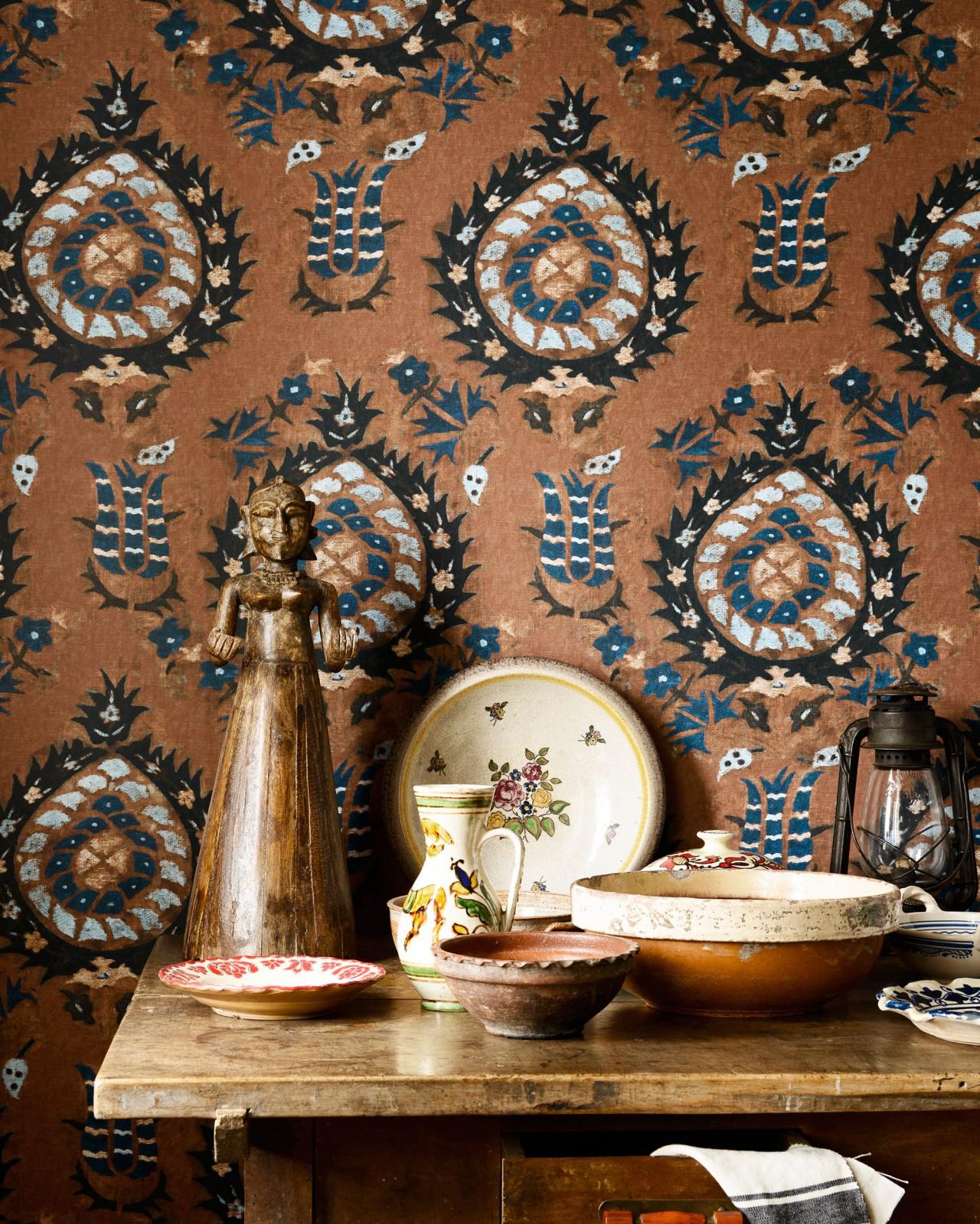FLOURISH Sienna Wallpaper