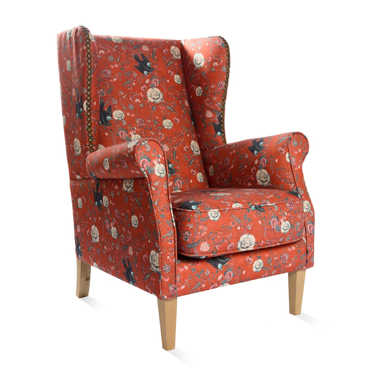 ARMCHAIR - Black Bird Linen