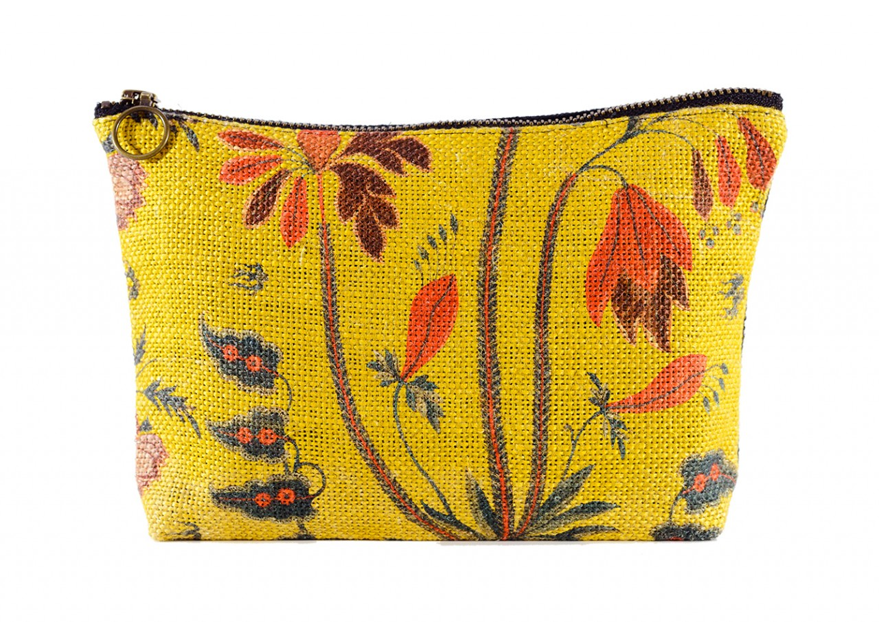 GYPSY OCHRE Linen Wash Bag