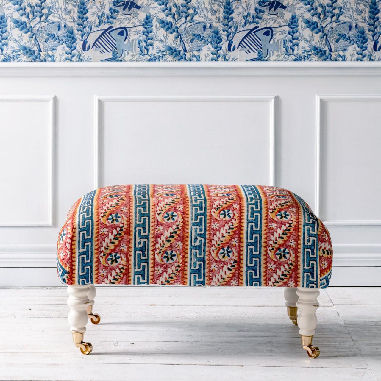 HUDSON STOOL - SAMOTHRAKI Fabric