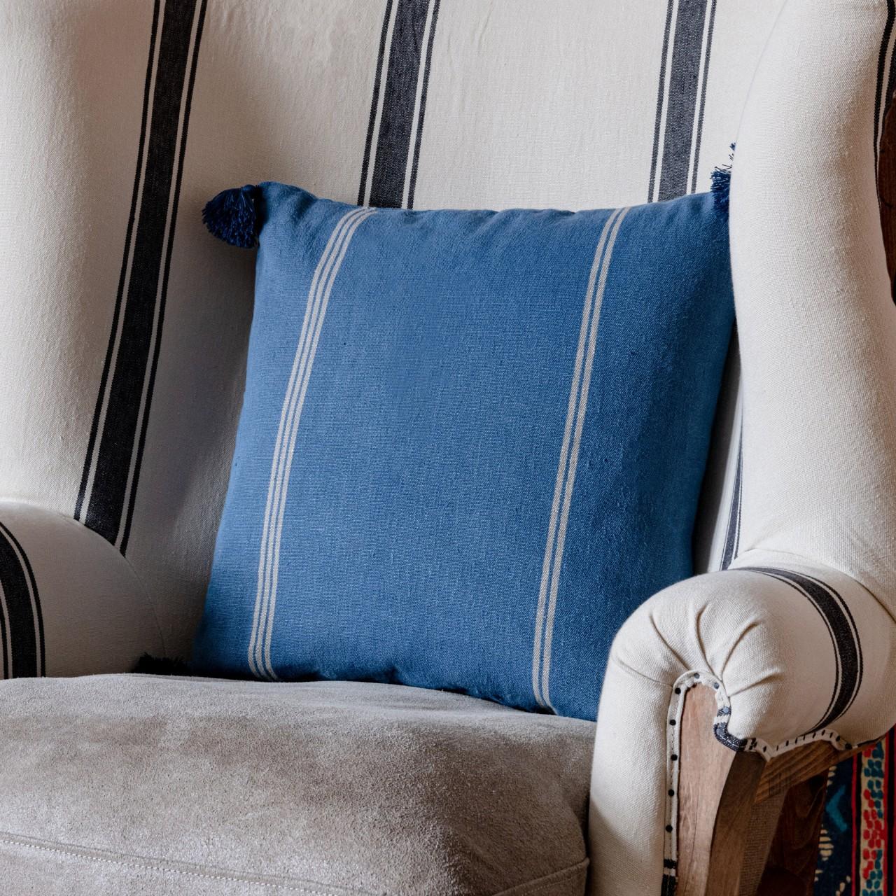 KATALIN Stripe Heavy Linen Cushion