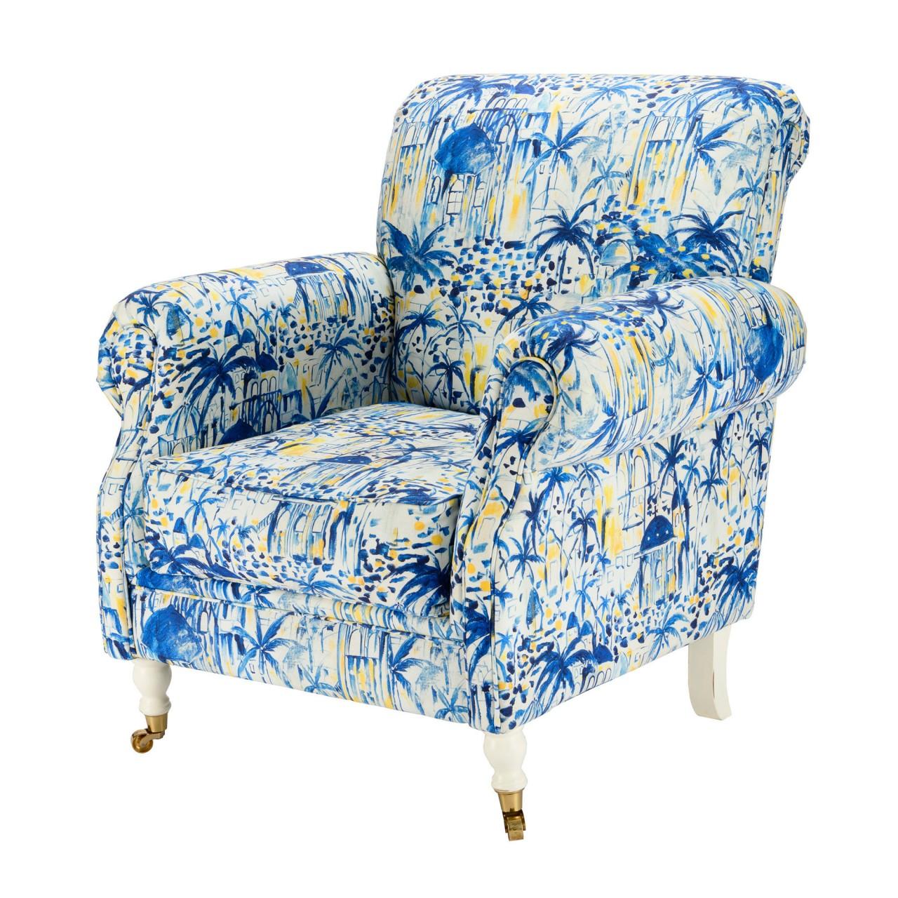 KINGSTON CHAIR - RHODES Fabric