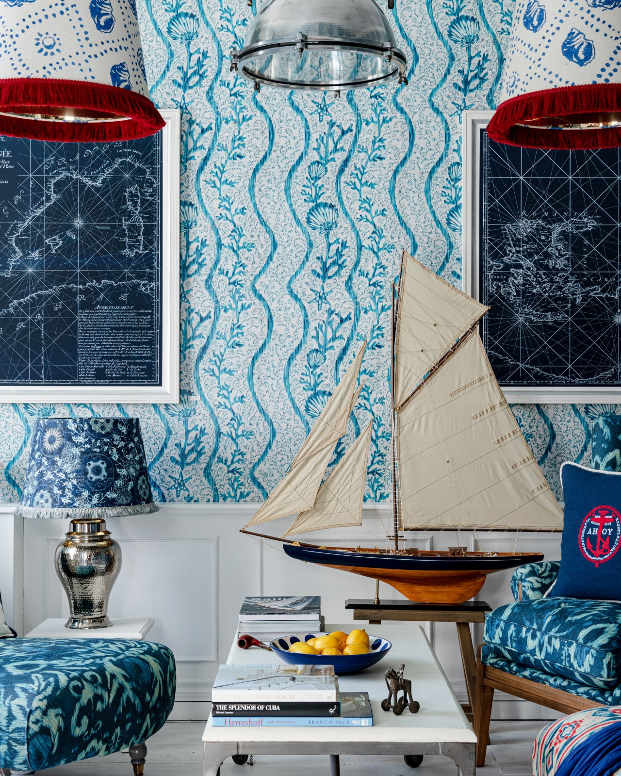 KORALION Aquamarine Wallpaper