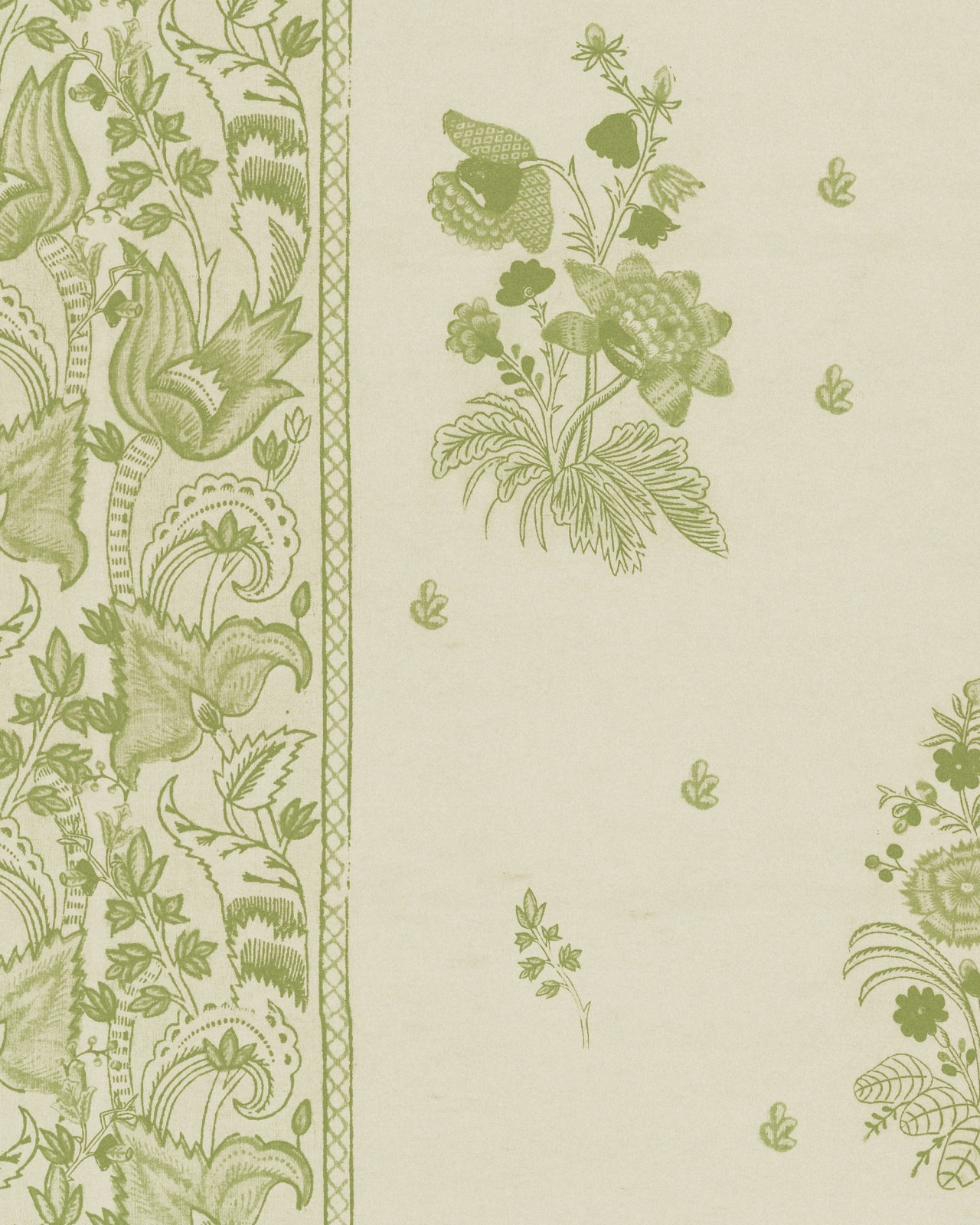 KOROND FLORAL Beechnut Wallpaper