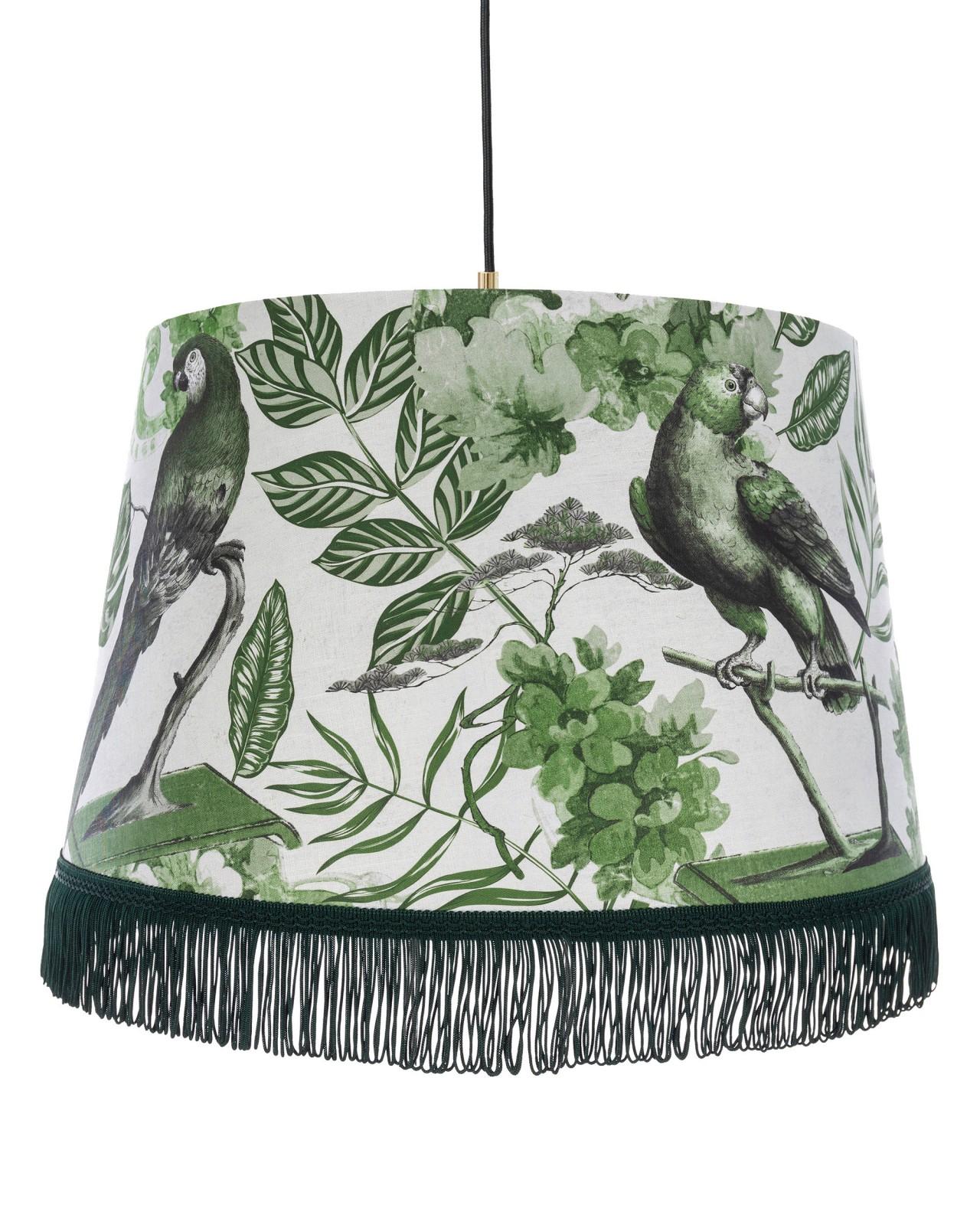LA VOLIERE Green Pendant Lamp