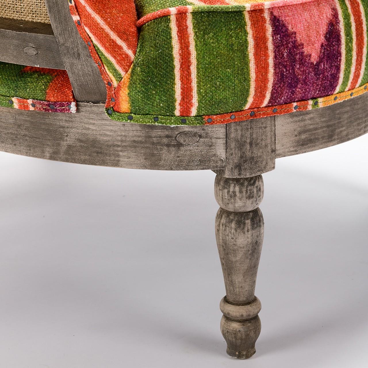 LOUIS DECONSTRUCTED CHAIR - ERDELY Linen